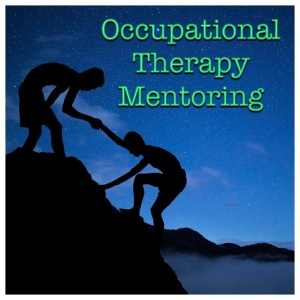 Occupational Therapy Mentoring (one person helping another up)