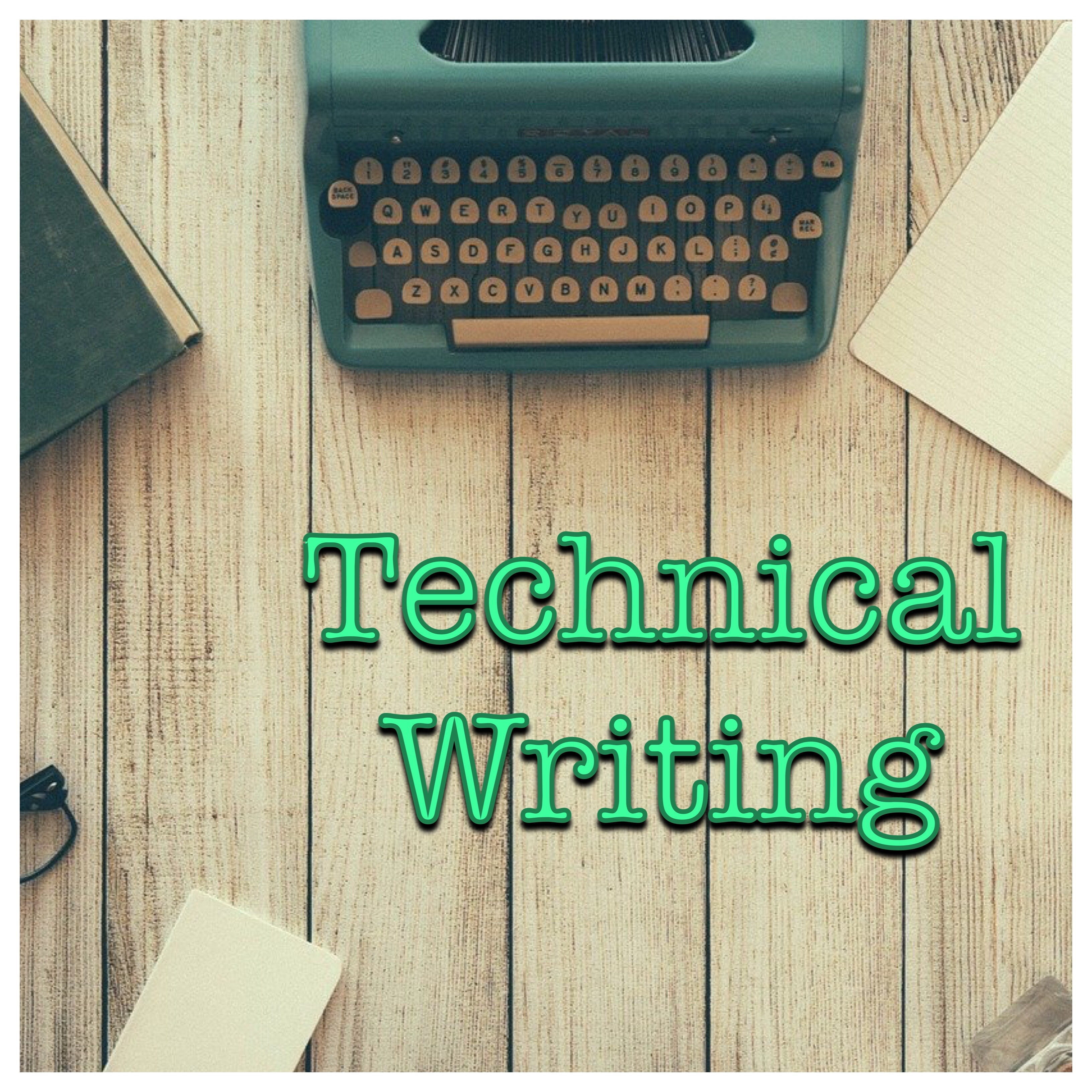 Technical Writing Logo (Typewriter)